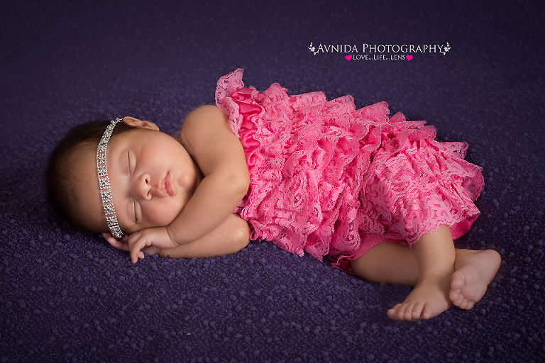 Newborn photography metuchen new jersey baby sleeping peacefully