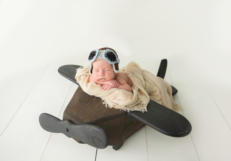 Most adorable little pilot traveling all around the world