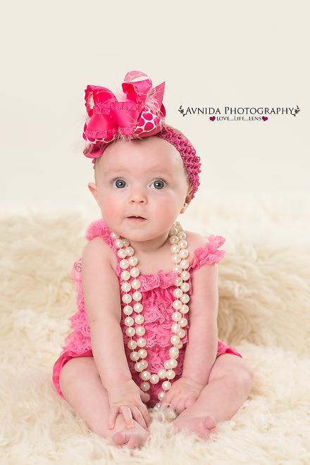 Bridgewater nj baby photographer baby juliette 4 months