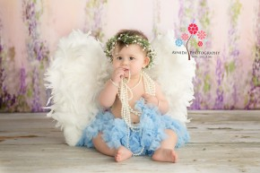 Basking Ridge Baby Photography-an angel with wings