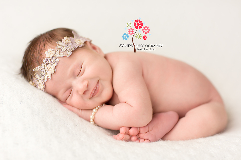 Branchburg newborn photography hillsborough nj baby smiles