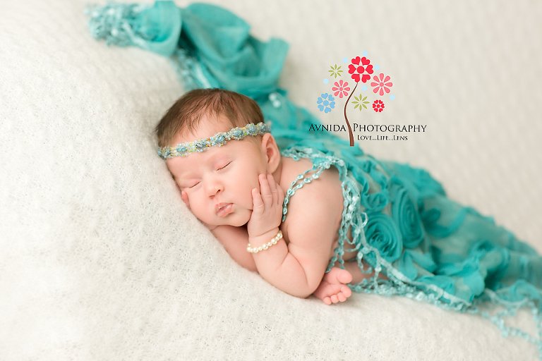 Branchburg newborn photography hillsborough nj beautiful colors baby photo