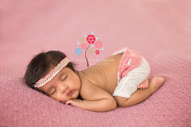 Baby Photography Bridgewater NJ- pretty in pink