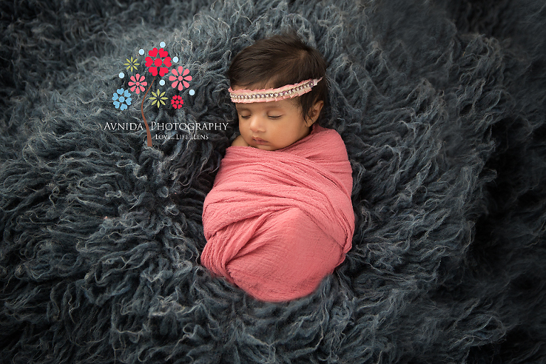 Baby Photography Bridgewater NJ- like a cute flower