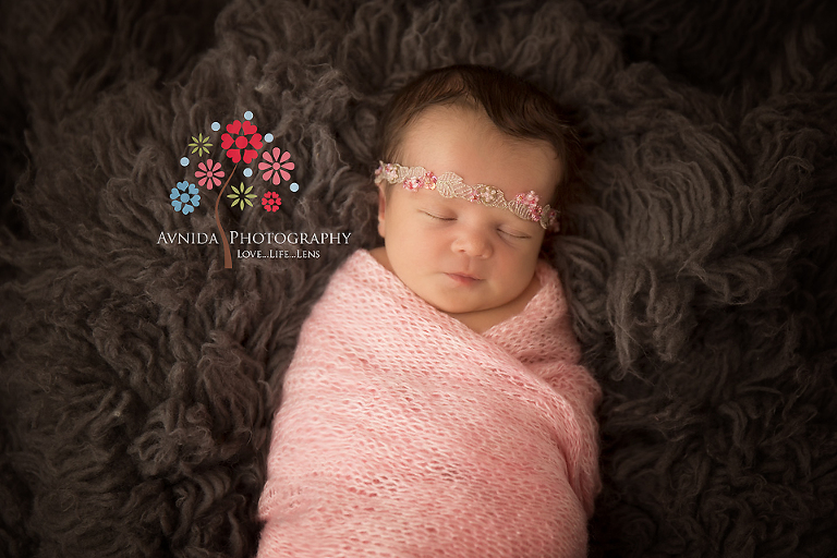 Newborn Photography New Providence NJ - in the pink cocoon