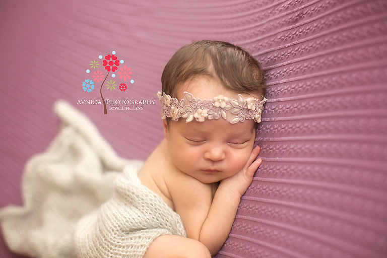 Newborn Photography New Providence NJ - pretty in pink