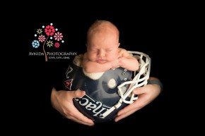 Newborn Photography Fall Hills NJ - touchdown