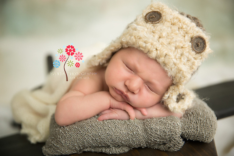 Newborn Photography Bernardsville NJ - A pioneer in aviation finally takes a break