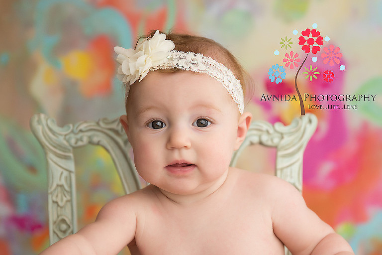 Baby photographer summit nj beautiful eyes shine brighter with a closeup