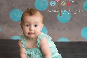 Baby Photographer Summit NJ - I love how she sticked her tongue out