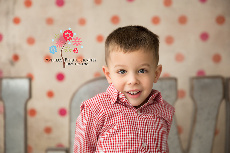 Children's Photography Bridgewater NJ - What planning. The shirt is red too