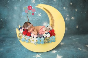 Newborn Photography Short Hills NJ - Love you to the moon and back