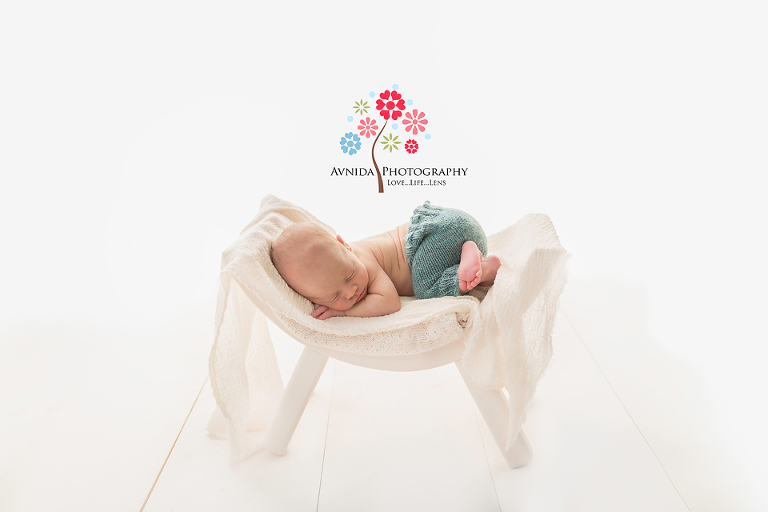 Final Edited Newborn Photograph with High-Key Lighting by Avnida Photography, finest studio for Newborn Photography NJ