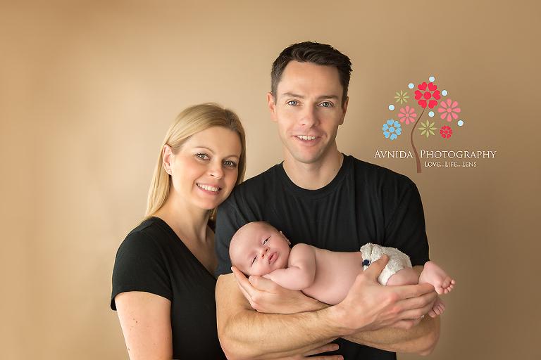 Newborn Photography Berkeley Heights NJ - Love my mom and dad