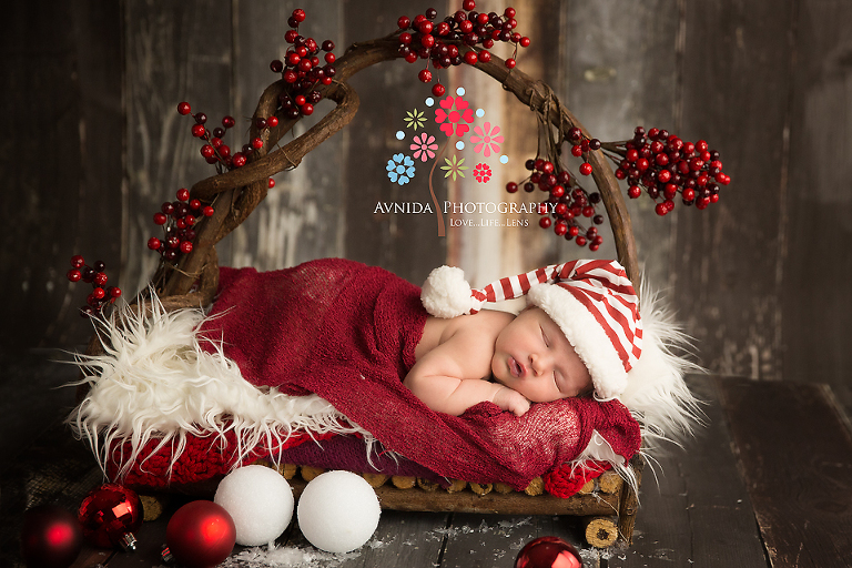Newborn Photography Whippany NJ - Saafia just brings out the colors in this one