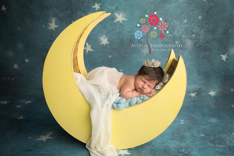 Newborn Photography Whippany NJ - Under the moon and stars
