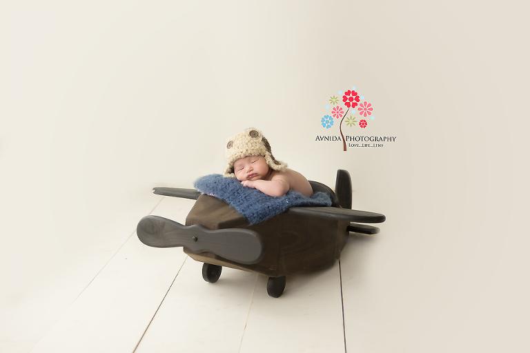 Boonton Newborn Photography Montville NJ - Taking a little nap before my next flight