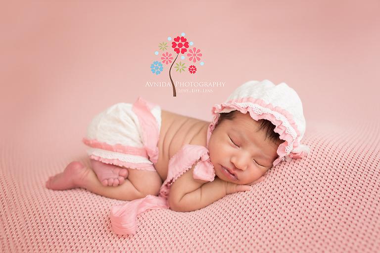 Newborn photography central nj maya just rocks the shabby chic style