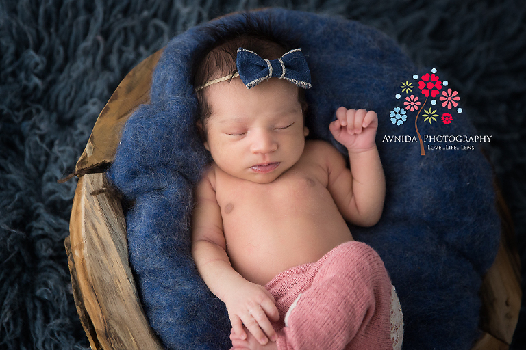 Newborn photography central nj maya is the little gift that came wrapped in a blow