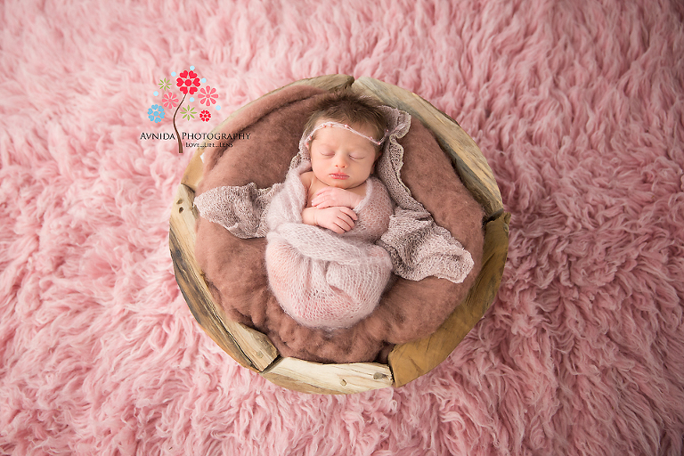 Newborn Photography NJ Bergen County: How cute can a little girl look?