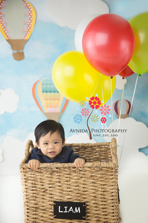 Ideas For Cake Smash Photography Sets Hot Air Balloon