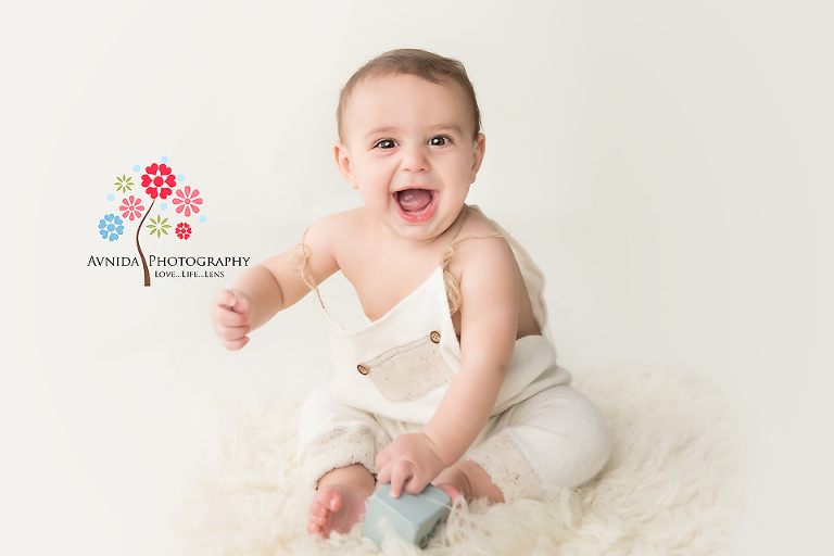 North NJ Baby Photographer - Let's go - I am ready for some action