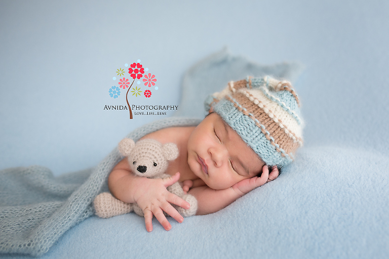 Verona nj newborn photographer and his friends join him for marcos newborn photography photoshoot
