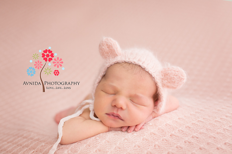 Newborn Photographer Ridgewood NJ - How can I forget pink for such a cute little princess