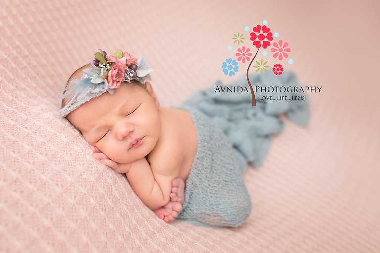 Newborn photographer ridgewood nj of course a princess cannot forget her crown and her evening