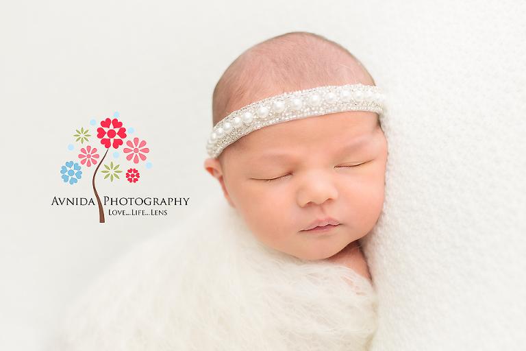 Newborn photographer ridgewood nj what an angelic face