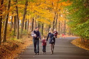 fall family portrait new jersey - this will be a walk down the memory lane
