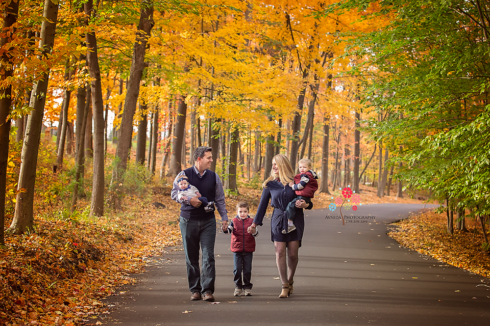 how amazing are these fall family portraits in new jersey