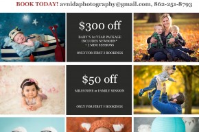 cyber monday deal on photography sessions