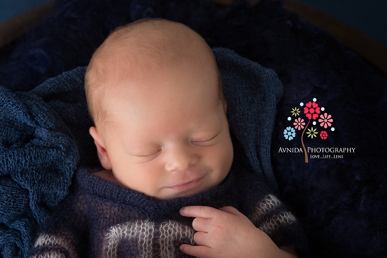 Newborn photography hillsborough nj look at that expression does that remind you of someone