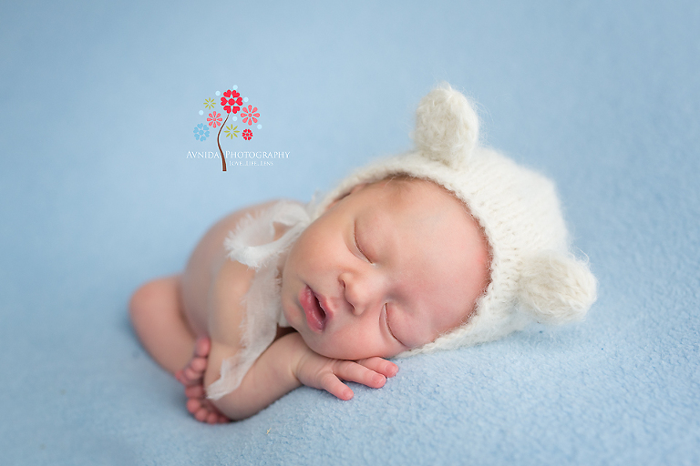 Newborn photography hillsborough nj the perfect combination of two of my favorite colors and a
