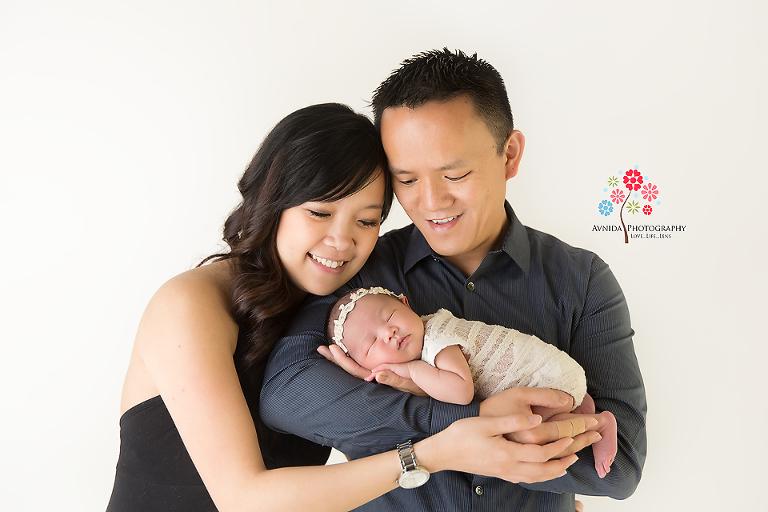 Newborn Photography Lawrenceville NJ - A beautiful family portrait