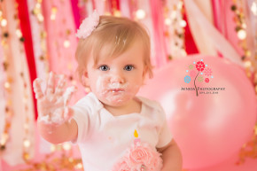 Cake Smash Photography Princeton NJ - Are you still looking for proof that I had fun at this cake smash session