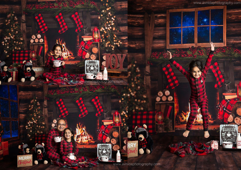 A-Warm-Cozy-Cabin-Photo-in-the woods photo setup-by-Avnida-Photography-in-New-Jersey