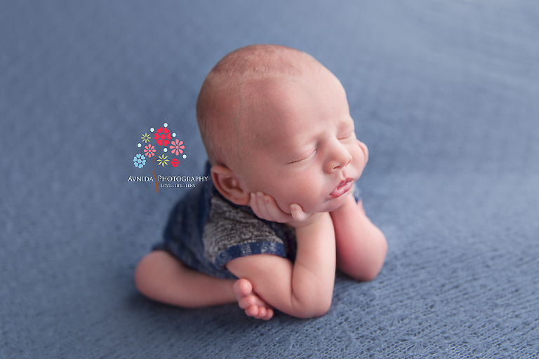 Basking Ridge Newborn Photography NJ - ...or whether you look at him from the side