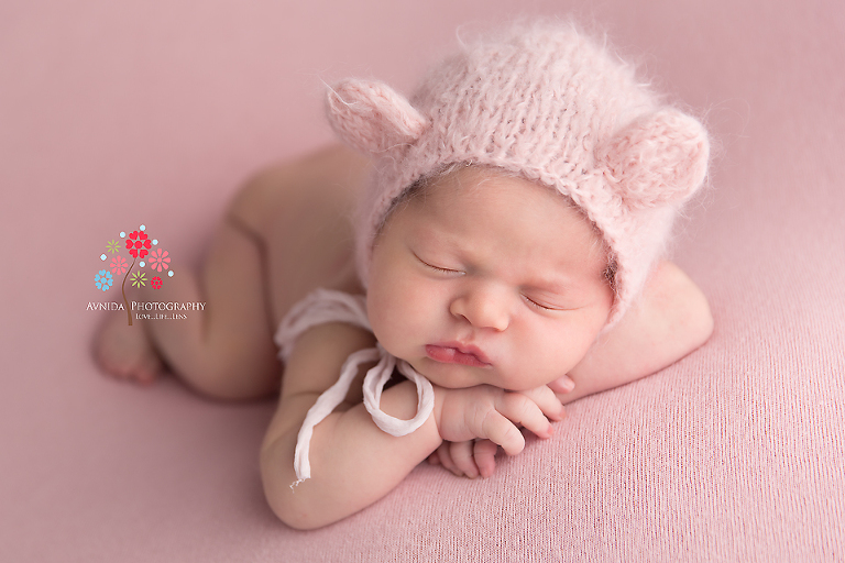 Newborn Photography Spring Lake NJ - Before you saw this picture you probably thought that teddy bears were the cutest - this has changed it completely hasn't it