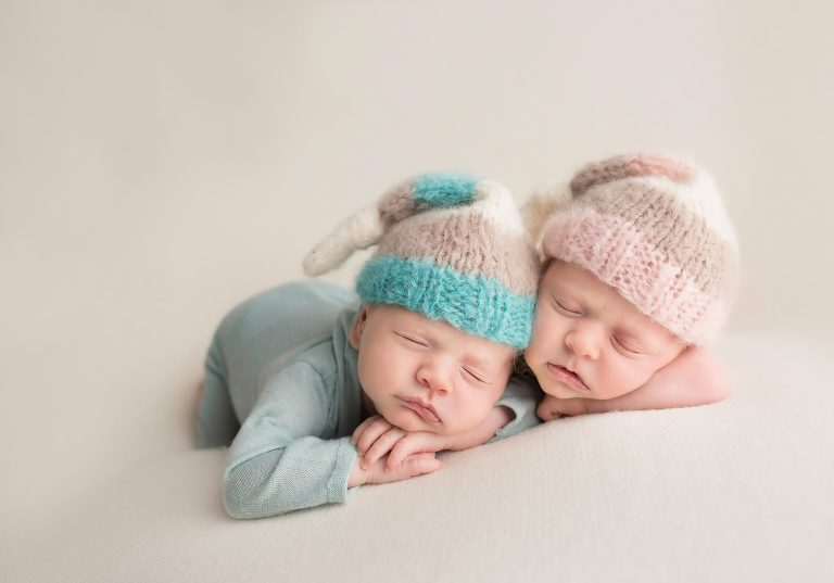 Top 10 twin newborn photos in my portfolio. By Avnida Photography, NJ's finest baby photographer.