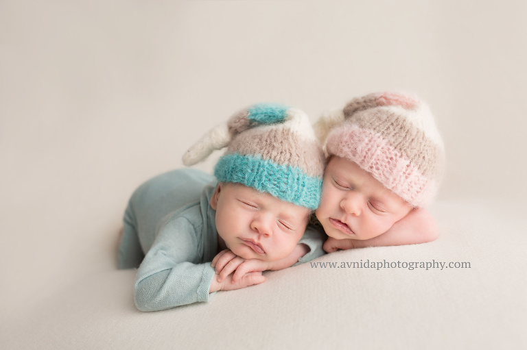 Newborn photographer nj twins photography