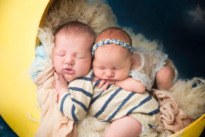 Newborn Photographer Chatham NJ - This is one of the cutest newborn twins photo